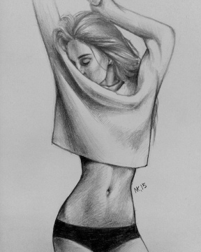 Woman Pencil Drawing and Beautiful Pencil Drawing Sketch Wipa'ù§Woman {'sweet Dreams Should